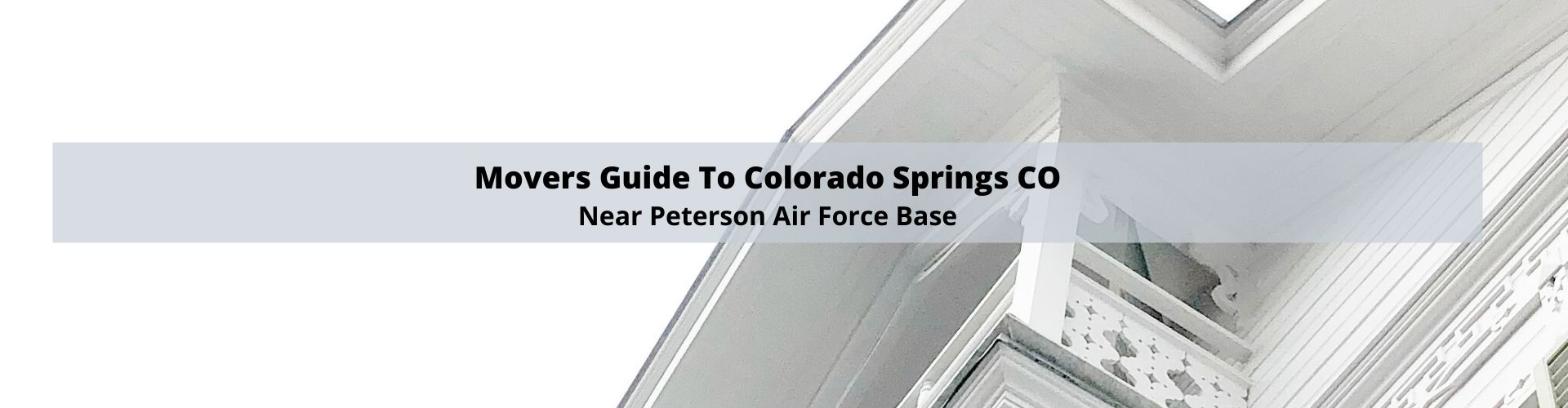 Movers Guide to Peterson Air Force Base Colorado Springs CO