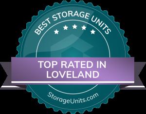 best storage units Loveland CO