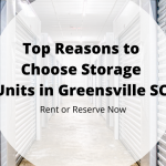 Storage Units in Greenville SC