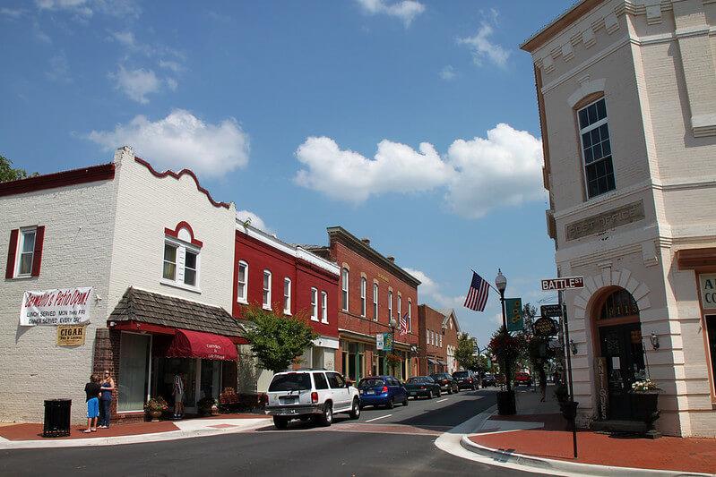 Downtown Manassas VA