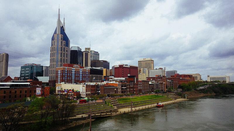 Downtown Nashville TN