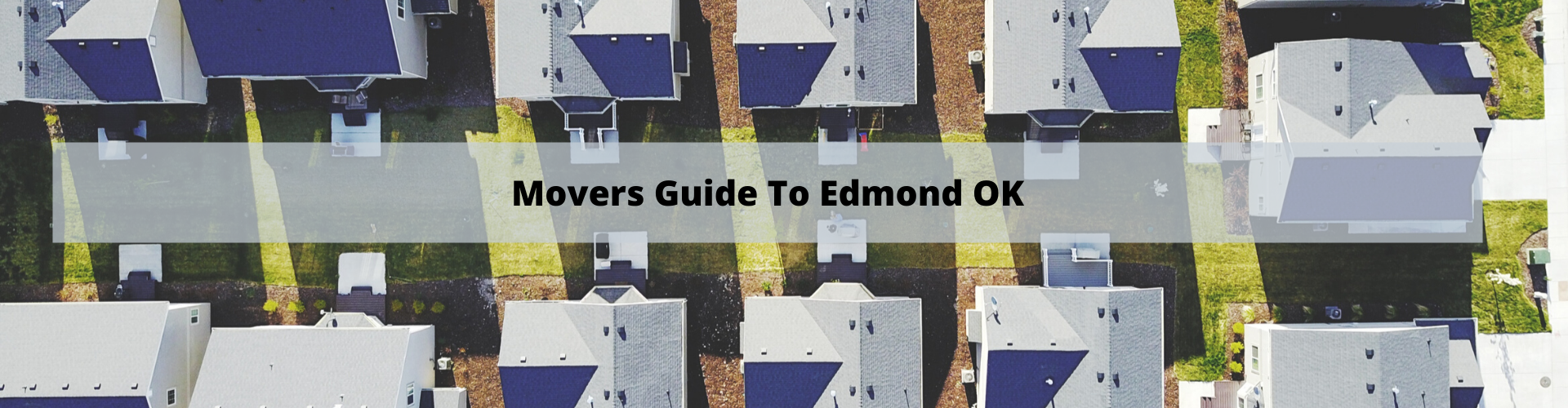 Movers Guide to Edmond OK