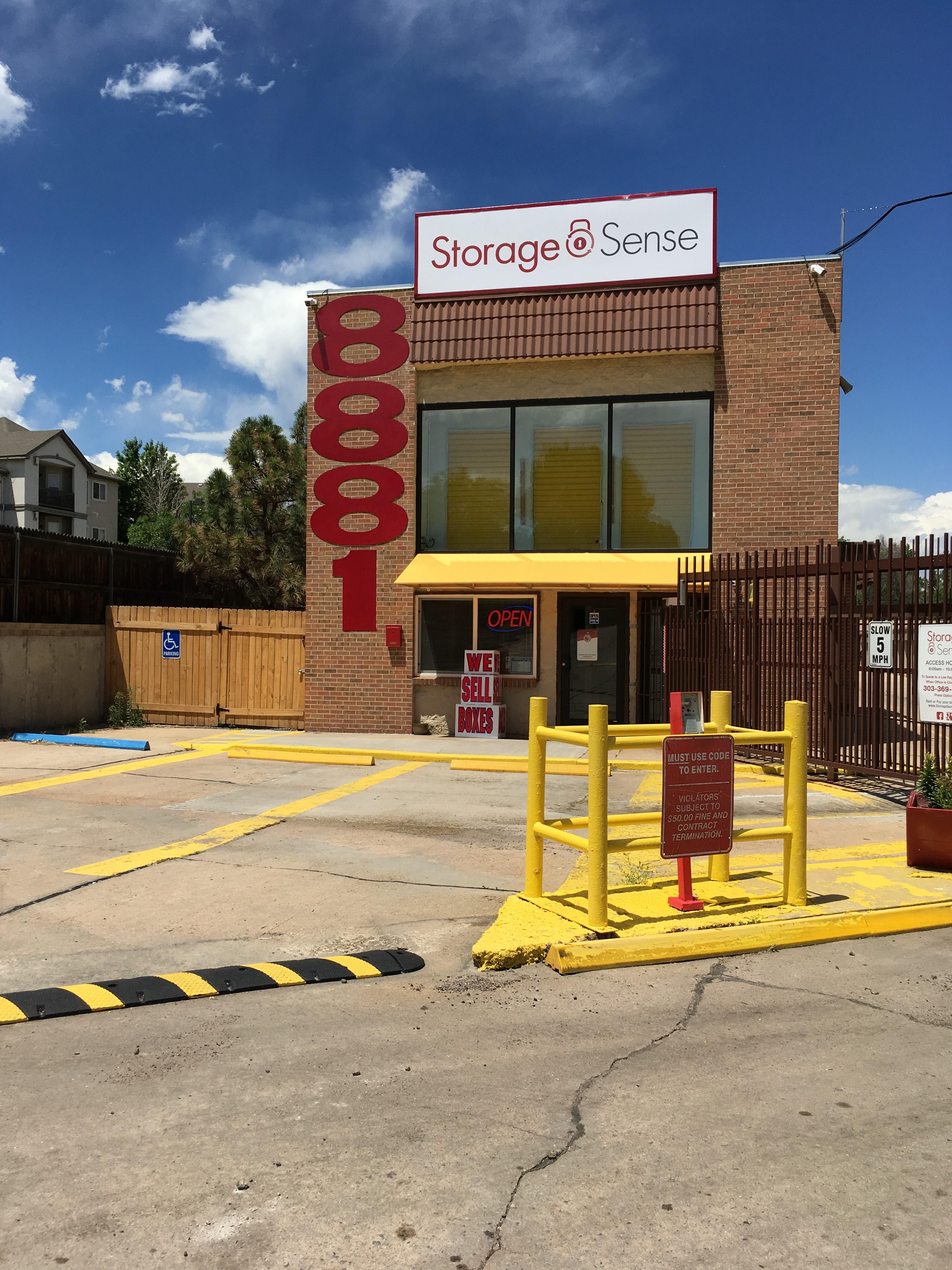Denver CO Storage Entrance