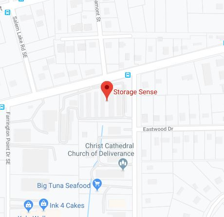 Winston-Salem NC Sprague Street Map