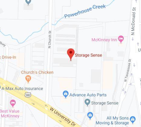 Storage Location in McKinney TX