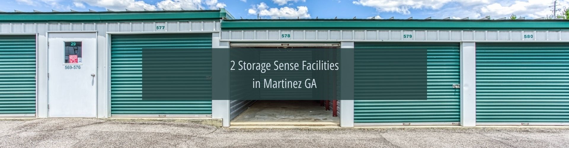 storage facilities Martinez GA