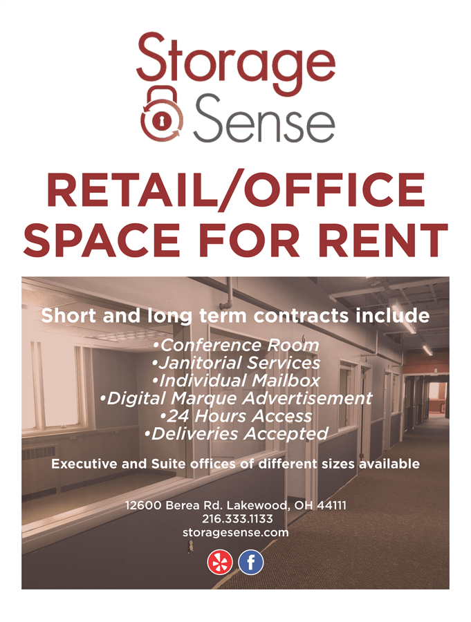 Retail Office Space Flyer