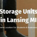 Storage in Lansing MI