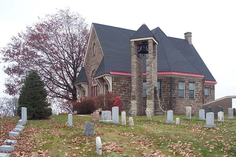 the Old Stone Church in Monroeville PA